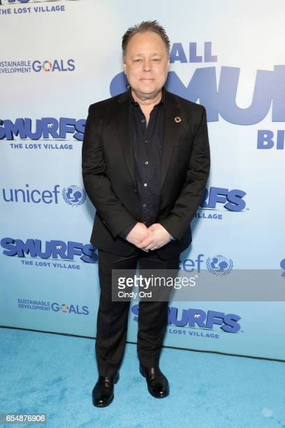 Director Kelly Asbury at the United Nations Headquarters celebrating International Day of Happiness in conjunction with SMURFS THE LOST VILLAGE on...