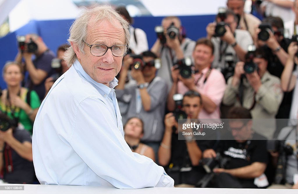 Director <a gi-track='captionPersonalityLinkClicked' href=/galleries/search?phrase=Ken+Loach&family=editorial&specificpeople=233467 ng-click='$event.stopPropagation()'>Ken Loach</a> attend the 'Route Irish' Photocall at the Palais des Festivals during the 63rd Annual Cannes Film Festival on May 21, 2010 in Cannes, France.