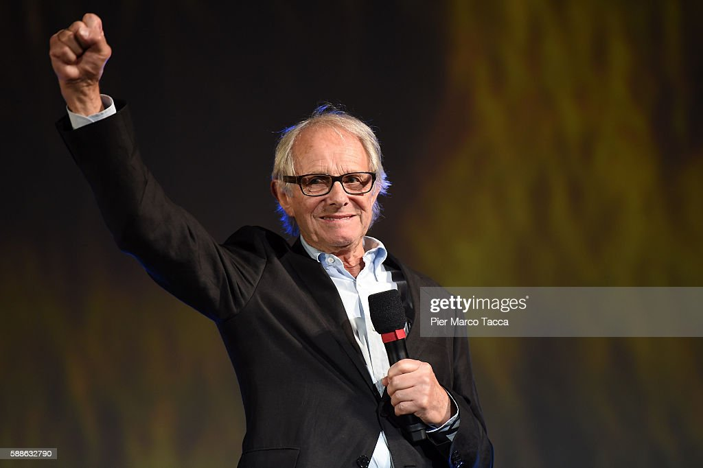 Director Ken Loach attends a photocall during the 69th Locarno Film Festival on August 11, 2016 in Locarno, Switzerland.