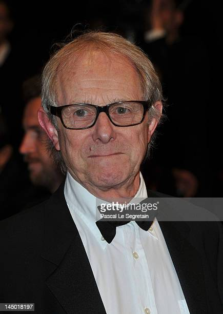 Director Ken Loach attends 'The Angels' Share' Premiere during 65th Annual Cannes Film Festival at Palais des Festivals on May 22 2012 in Cannes...