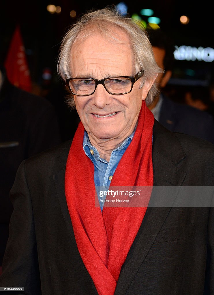 Director Ken Loach attends the 'I, Daniel Blake' people's premiere at Vue West End on October 18, 2016 in London, England.