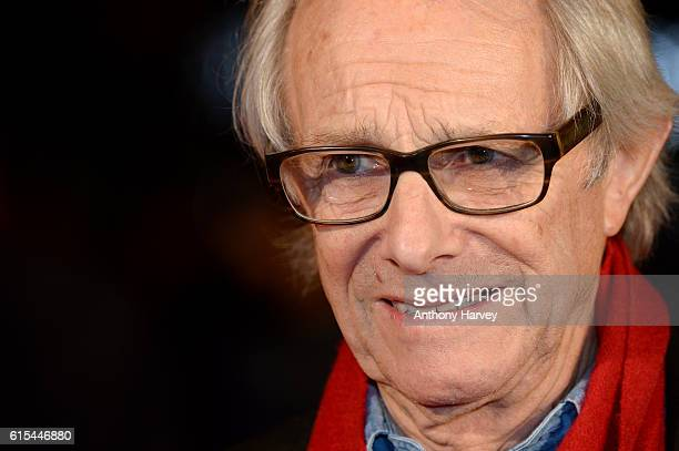 Director Ken Loach attends the 'I Daniel Blake' people's premiere at Vue West End on October 18 2016 in London England