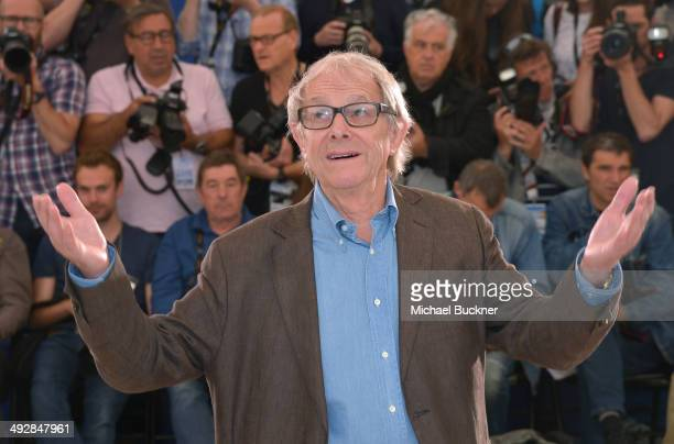 Director Ken Loach attends the 'Jimmy's Hall' photocall during the 67th Annual Cannes Film Festival on May 22 2014 in Cannes France