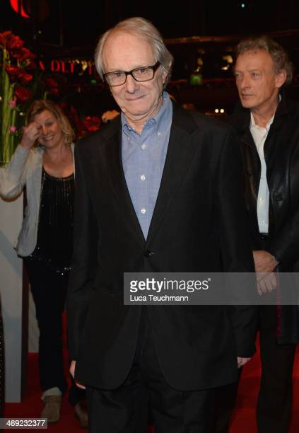 Director Ken Loach attends the Ken Loach Hommage during 64th Berlinale International Film Festival at Berlinale Palast on February 13 2014 in Berlin...