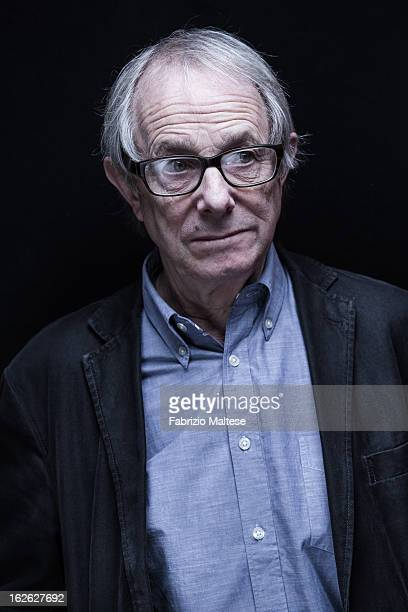 Director Ken Loach is photographed for Self Assignment on February 12 2013 in Berlin Germany