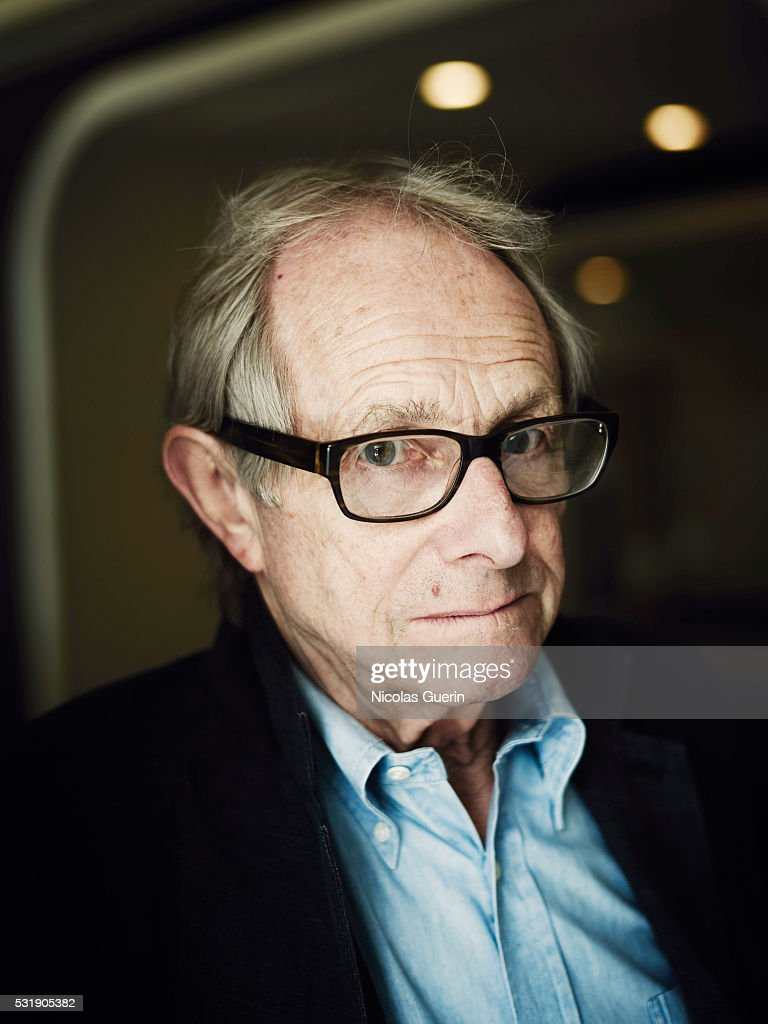 Director <a gi-track='captionPersonalityLinkClicked' href=/galleries/search?phrase=Ken+Loach&family=editorial&specificpeople=233467 ng-click='$event.stopPropagation()'>Ken Loach</a> is photographed for Self Assignment on May 14, 2016 in Cannes, France.