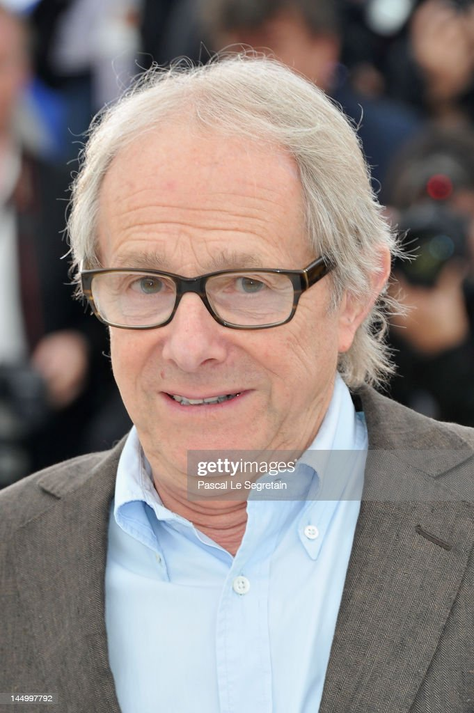 Director <a gi-track='captionPersonalityLinkClicked' href=/galleries/search?phrase=Ken+Loach&family=editorial&specificpeople=233467 ng-click='$event.stopPropagation()'>Ken Loach</a> poses at the 'The Angels' Share' photocall during the 65th Annual Cannes Film Festival at Palais des Festivals on May 22, 2012 in Cannes, France.