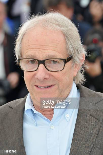 Director Ken Loach poses at the 'The Angels' Share' photocall during the 65th Annual Cannes Film Festival at Palais des Festivals on May 22 2012 in...