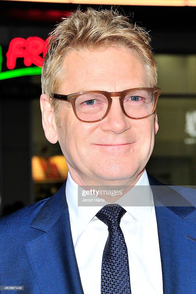 Director Kenneth Branagh arrives at 'Jack Ryan: Shadow Recruit' - Los Angeles Premiere at TCL Chinese Theatre on January 15, 2014 in Hollywood, California.