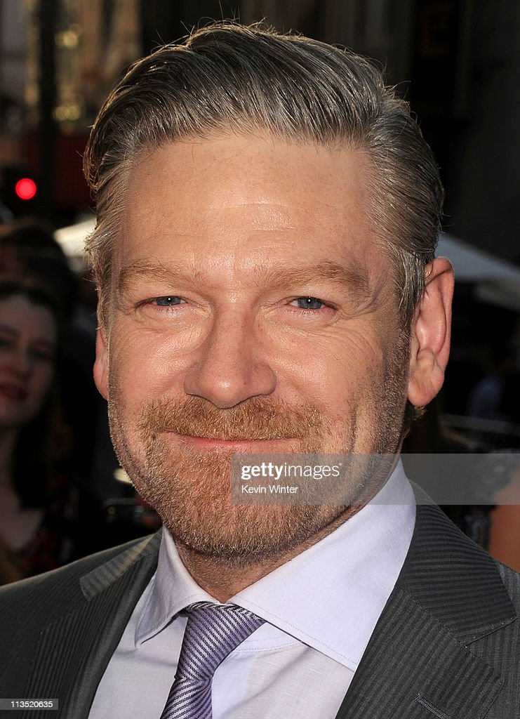 Director <a gi-track='captionPersonalityLinkClicked' href=/galleries/search?phrase=Kenneth+Branagh&family=editorial&specificpeople=213618 ng-click='$event.stopPropagation()'>Kenneth Branagh</a> arrives at the premiere of Paramount Pictures' and Marvel's 'Thor' held at the El Capitan Theatre on May 2, 2011 in Los Angeles, California.
