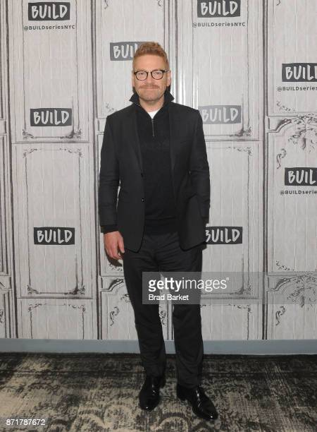 Director Kenneth Branagh attends Build Presents Kenneth Branagh Discussing 'Murder on the Orient Express' at Build Studio on November 8 2017 in New...