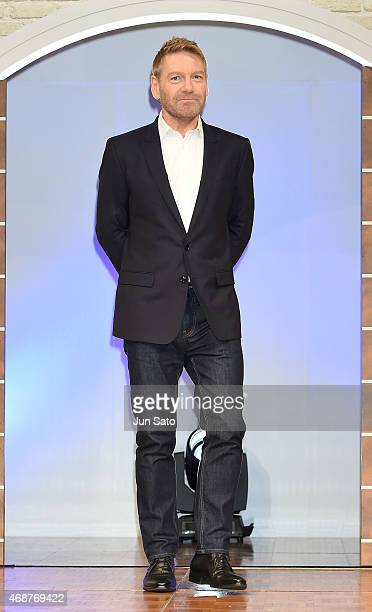 Director Kenneth Branagh attends the press conference for 'Cinderella' at The Ritz Carlton Tokyo on April 7 2015 in Tokyo Japan