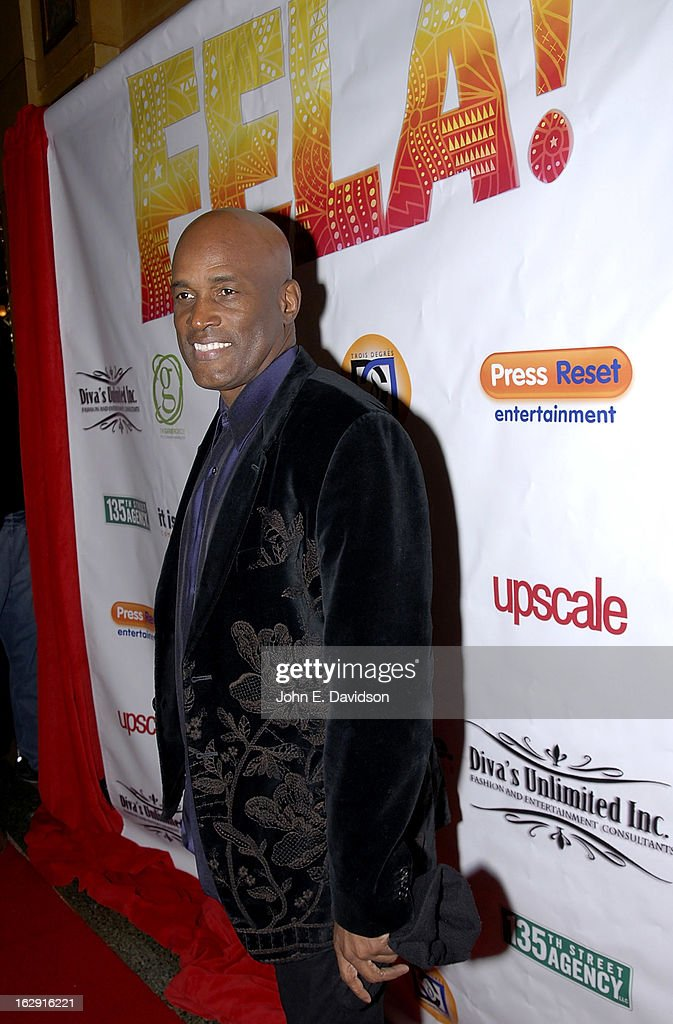 Director <a gi-track='captionPersonalityLinkClicked' href=/galleries/search?phrase=Kenny+Leon&family=editorial&specificpeople=234439 ng-click='$event.stopPropagation()'>Kenny Leon</a> attends the 'Fela!' Opening Night at The Fox Theatre on February 28, 2013 in Atlanta, Georgia.