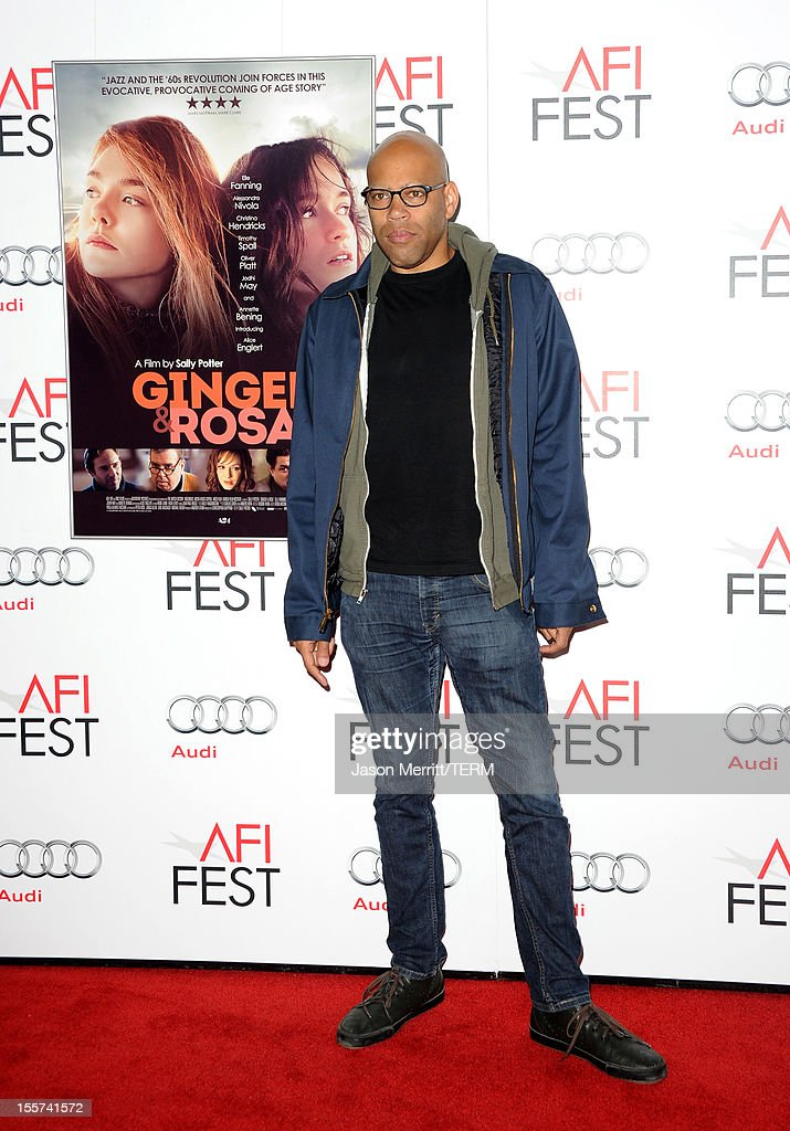 Director Kevin Jerome Everson arrives at the 'Ginger And Rosa' special screening during AFI Fest 2012 presented by Audi at Grauman's Chinese Theatre on November 7, 2012 in Hollywood, California.