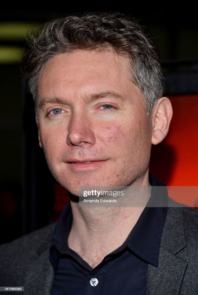 Director Kevin Macdonald arrives at the Los Angeles premiere of 'How I Live Now' at ArcLight Hollywood on November 5 2013 in Hollywood California