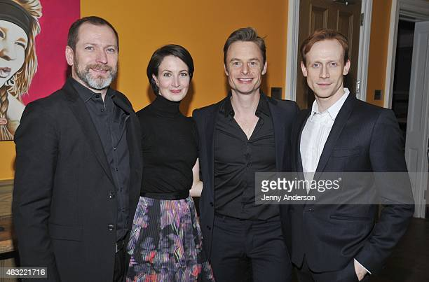 Director Kevin O'Hare dancers Lauren Cuthbertson and Edward Watson and choreographer Christopher Wheeldon attend The Royal Ballet's 'The Winter Tale'...