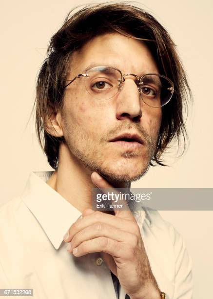 Director Kevin Phillips from 'Super Dark Times' pose for a portrait at the 2017 Tribeca Film Festival portrait studio on April 20 2017 in New York...
