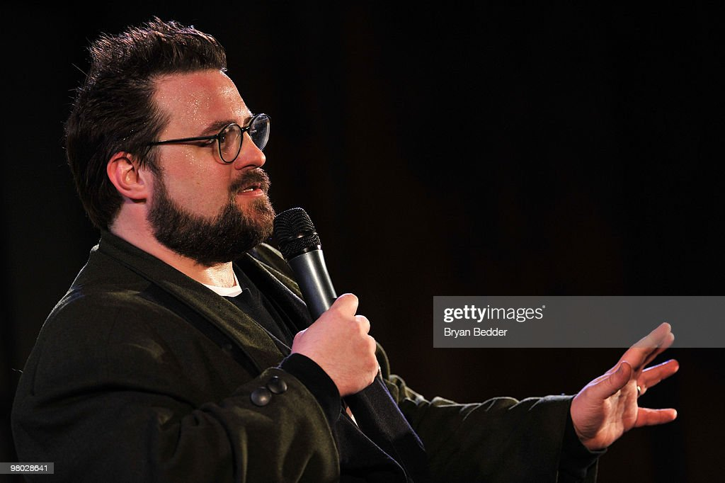 Director Kevin Smith attends the George Carlin Tribute hosted by Whoopi Goldberg at the New York Public Library - Celeste Bartos Forum on March 24, 2010 in New York City.