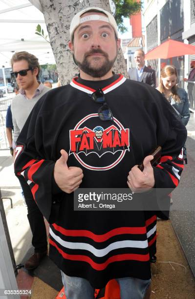 Director Kevin Smith attends the Gorge Segal Star Ceremony at The Hollywood Walk Of Fame on February 14 2017 in Hollywood California