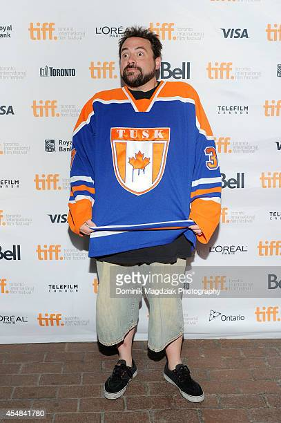 Director Kevin Smith attends the premiere of 'Tusk' at the Toronto International Film Festival on September 6 2014 in Toronto Canada