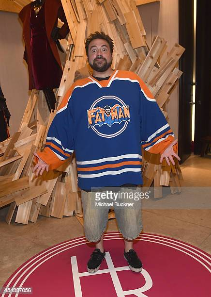Director Kevin Smith attends the Variety Studio presented by Moroccanoil at Holt Renfrew during the 2014 Toronto International Film Festival on...