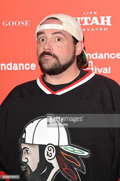 Director Kevin Smith attends the 'Yoga Hosers' Premiere during the 2016 Sundance Film Festival at Library Center Theater on January 24 2016 in Park...
