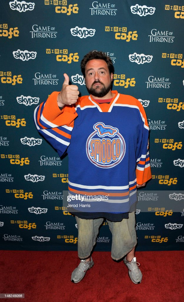 Director Kevin Smith attends WIRED Cafe at Comic-Con held at Palm Terrace at the Omni Hotel on July 12, 2012 in San Diego, California.