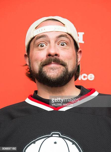 Director Kevin Smith attends Yoga Hosers Premiere at Sundance Film Festival in Park City Utah January 24 2016 / AFP / Valerie MACON
