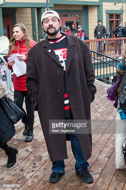 Director Kevin Smith is seen around town at the Sundance Film Festival on January 24 2016 in Park City Utah