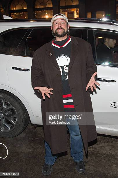Director Kevin Smith is seen around town at the Sundance Film Festival on January 25 2016 in Park City Utah