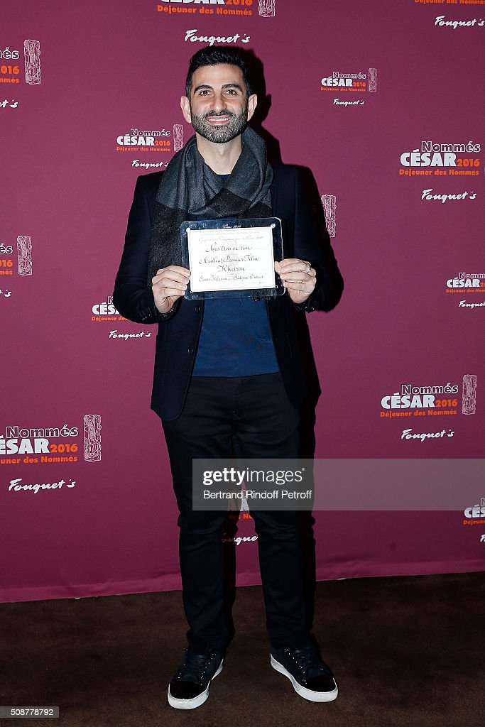 Director Kheiron attends 'Cesar 2016 Nominee Luncheon' at Le Fouquet's on February 6, 2016 in Paris, France.