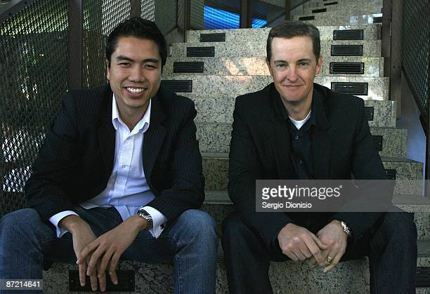 Director Khoa Do and author Matthew Riley attend the official launch for the Sydney Film Festival at the Dendy Opera Quays on May 14 2009 in Sydney...