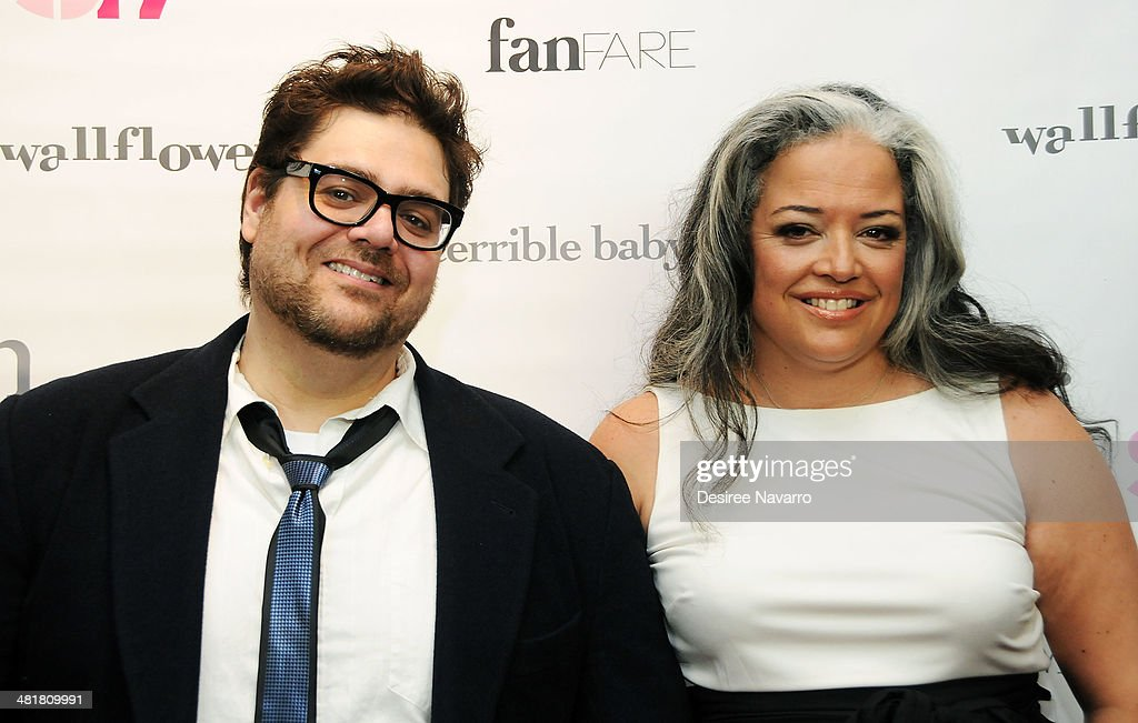 Director Kieran Turner (L) and executive producer Ondine Landa Abramson attend the Stage17 Premiere at Walter Reade Theater on March 31, 2014 in New York City.