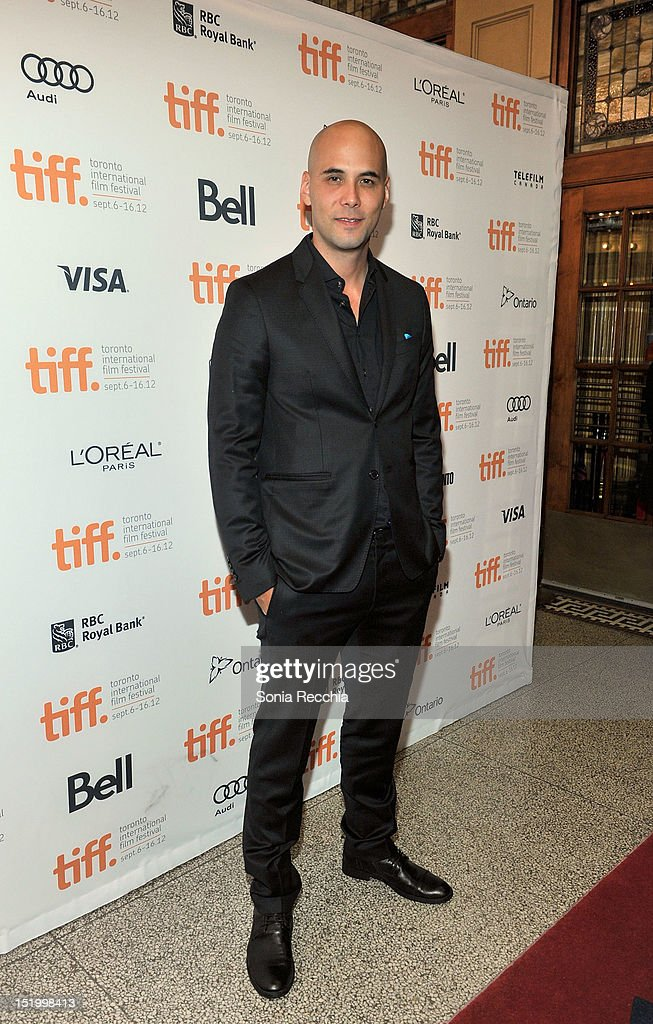Director Kim Nguyen attends the 'Rebelle' premiere during the 2012 Toronto International Film Festival at The Elgin on September 14 2012 in Toronto...
