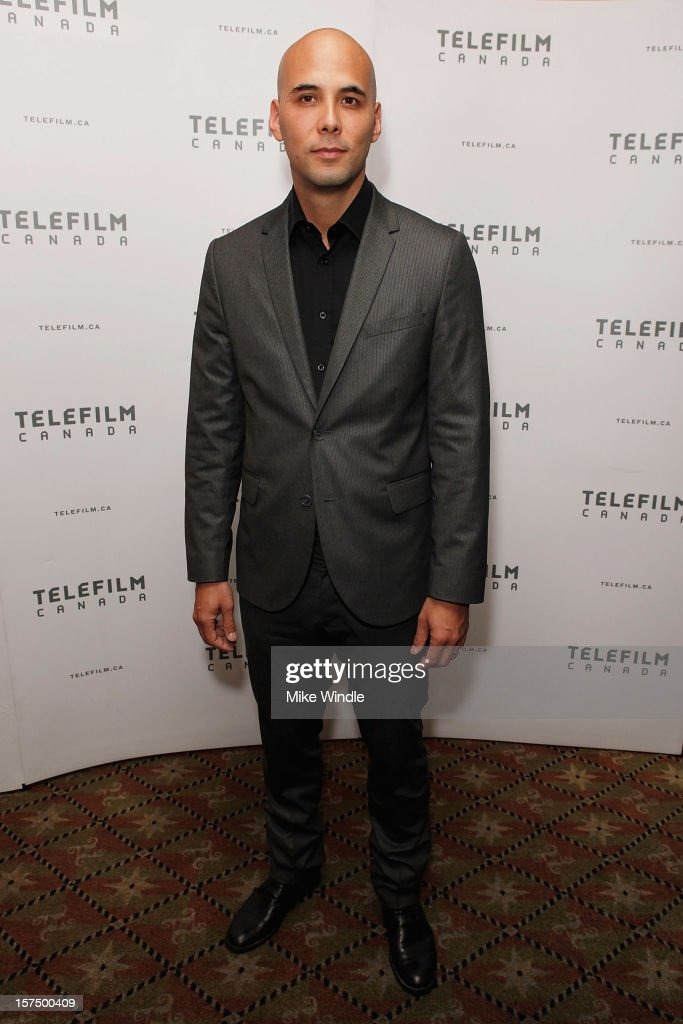 Director Kim Nguyen poses during Tribeca Film and Telefilm Canada host a special screening for Kim Nguyen's WAR WITCH Official Entry for the 85th...