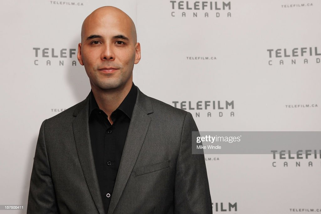 Director Kim Nguyen poses during Tribeca Film and Telefilm Canada host a special screening for Kim Nguyen's WAR WITCH Official Entry for the 85th Academy Awards - Foreign Language on December 3, 2012 in Los Angeles, California.