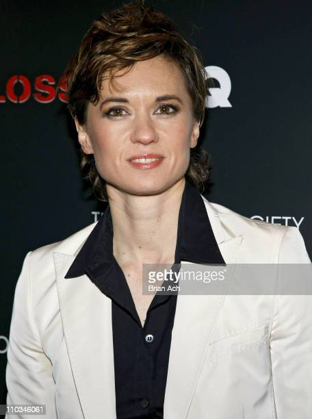 Director Kimberly Peirce at The Cinema Society and GQ Hosted Screening of 'StopLoss' on March 20 at the IFC Center in New York City