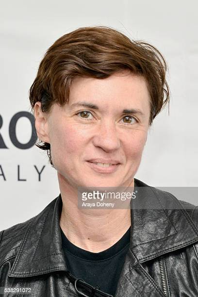 Director Kimberly Peirce attends Coffee Talks Directors during the 2016 Los Angeles Film Festival at The Culver Hotel on June 5 2016 in Culver City...
