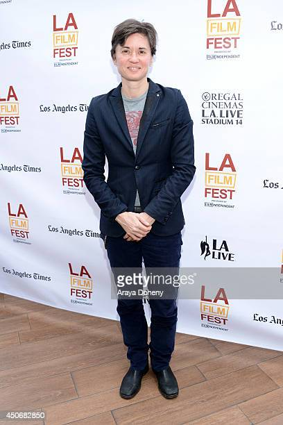 Director Kimberly Peirce attends Coffee Talks during the 2014 Los Angeles Film Festival at Luxe City Center Hotel on June 15 2014 in Los Angeles...