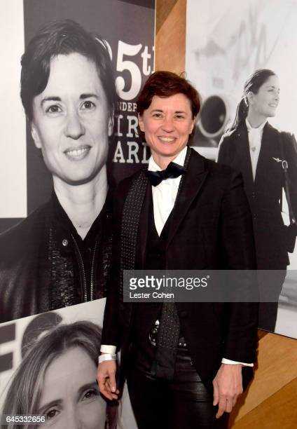 Director Kimberly Peirce attends the 2017 Film Independent Spirit Awards sponsored by American Airlines at the Santa Monica Pier on February 25 2017...