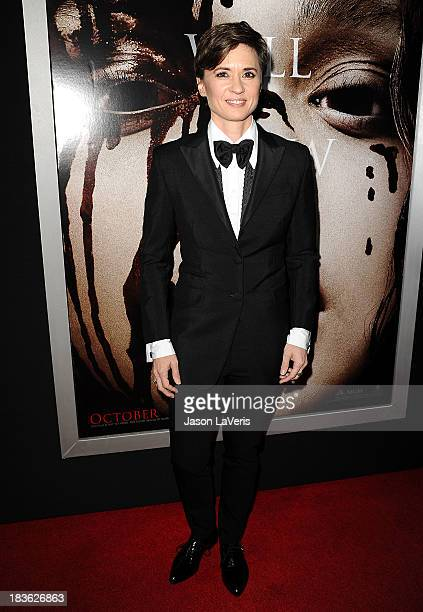 Director Kimberly Peirce attends the premiere of 'Carrie' at ArcLight Hollywood on October 7 2013 in Hollywood California