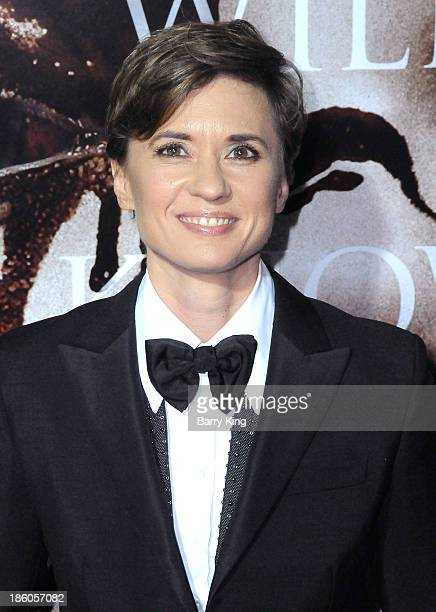 Director Kimberly Peirce attends the premiere of 'Carrie' on October 7 2013 at ArcLight Hollywood in Hollywood California