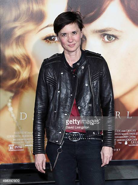 Director Kimberly Peirce attends the premiere of Focus Features' 'The Danish Girl' at the Regency Village Theatre on November 21 2015 in Westwood...