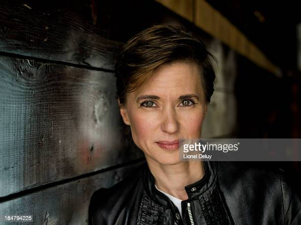 Director Kimberly Peirce is photographed for Beyond Cinema Magazine on August 27 2013 in West Hollywood California PUBLISHED IMAGE