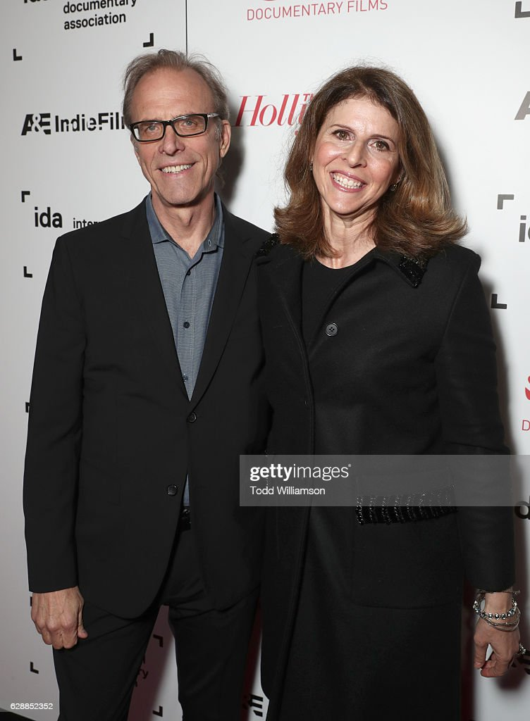 Director Kirby Dick (L) and filmmaker Amy Ziering attend the 32nd Annual IDA Documentary Awards at Paramount Studios on December 9, 2016 in Hollywood, California.