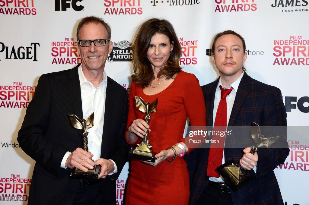 2013 Film Independent Spirit Awards - Press Room