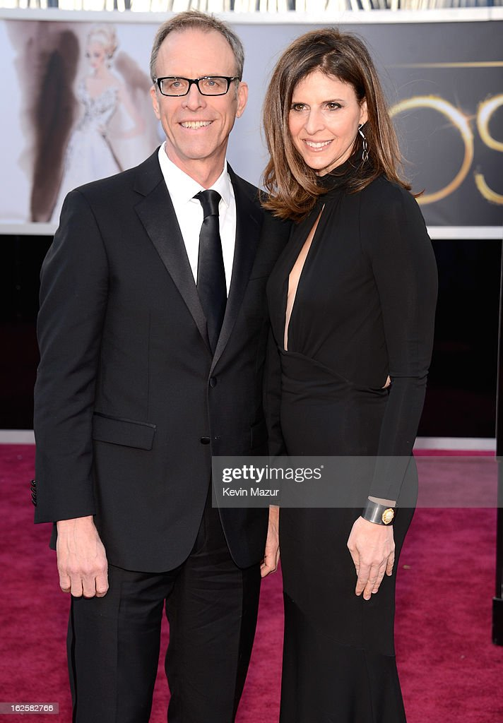 Director Kirby Dick and writer Amy Ziering arrive at the Oscars held at Hollywood Highland Center on February 24 2013 in Hollywood California