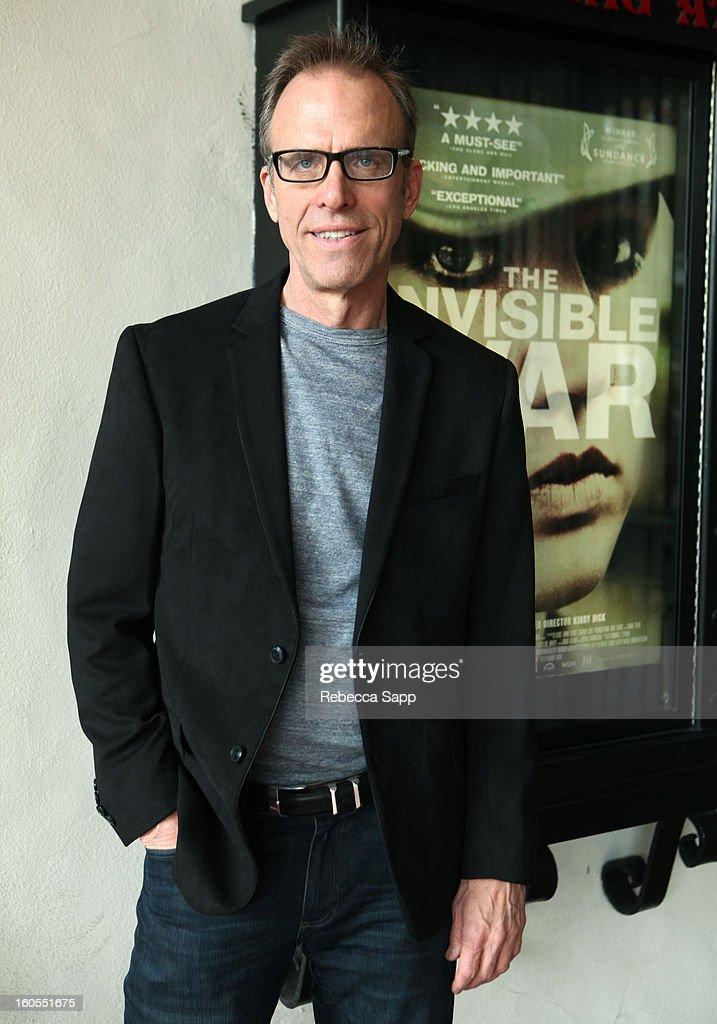 Director Kirby Dick of the film 'The Invisible War' at the 28th Santa Barbara International Film Festival on February 2, 2013 in Santa Barbara, California.