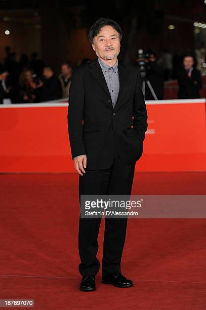 Director Kiyoshi Kurosawa attends 'Seventh Code' Premiere during The 8th Rome Film Festival on November 13 2013 in Rome Italy