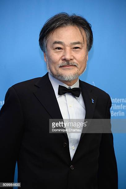 Director Kiyoshi Kurosawa attends the 'Creepy' photo call during the 66th Berlinale International Film Festival Berlin at Grand Hyatt Hotel on...